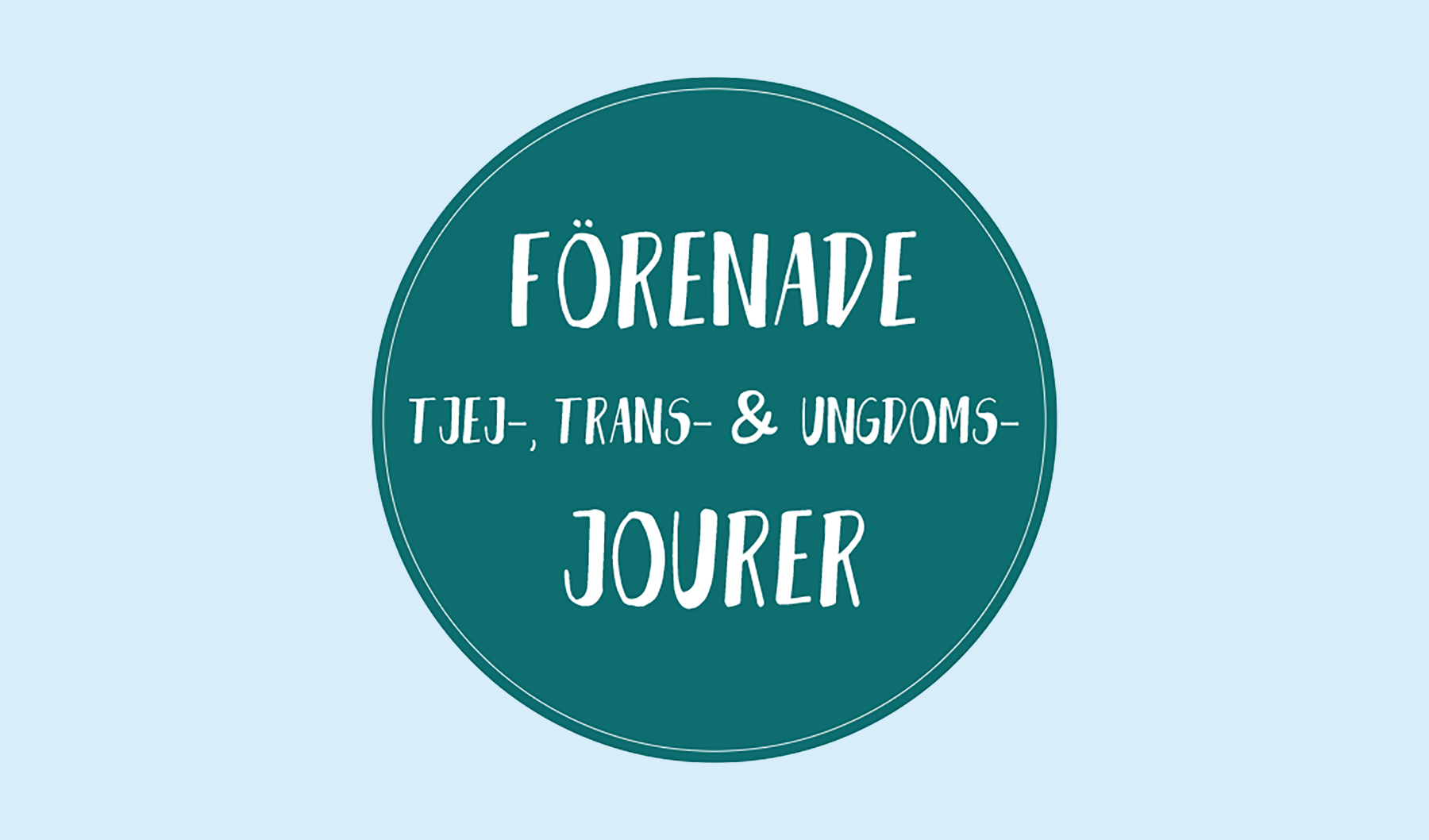 Logga för Förenade tjej-, trans- & ungdomsjourer